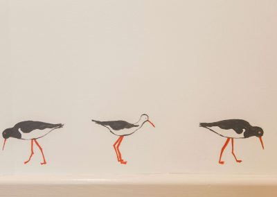 Hand Painted Oystercatchers