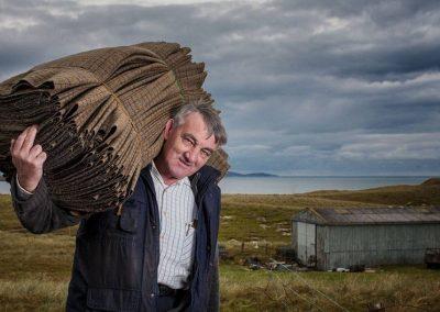 Local Harris Tweed Weaver