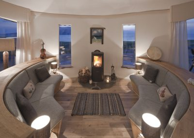 Cosy Snug Curved Seating Area