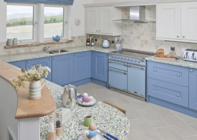 Kitchen with Professional Cooking Equipment