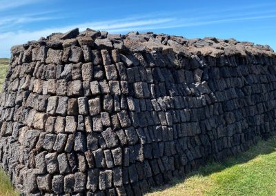 Traditional Peat Stack